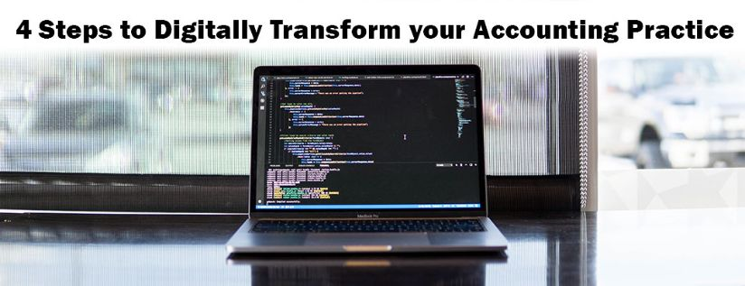 4 steps to Digitally transform your accounting practice