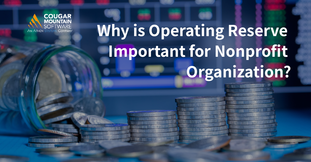 Why is Operating Reserve Important for Nonprofit Organization?